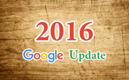 Google algorithm update at the beginning of 2016